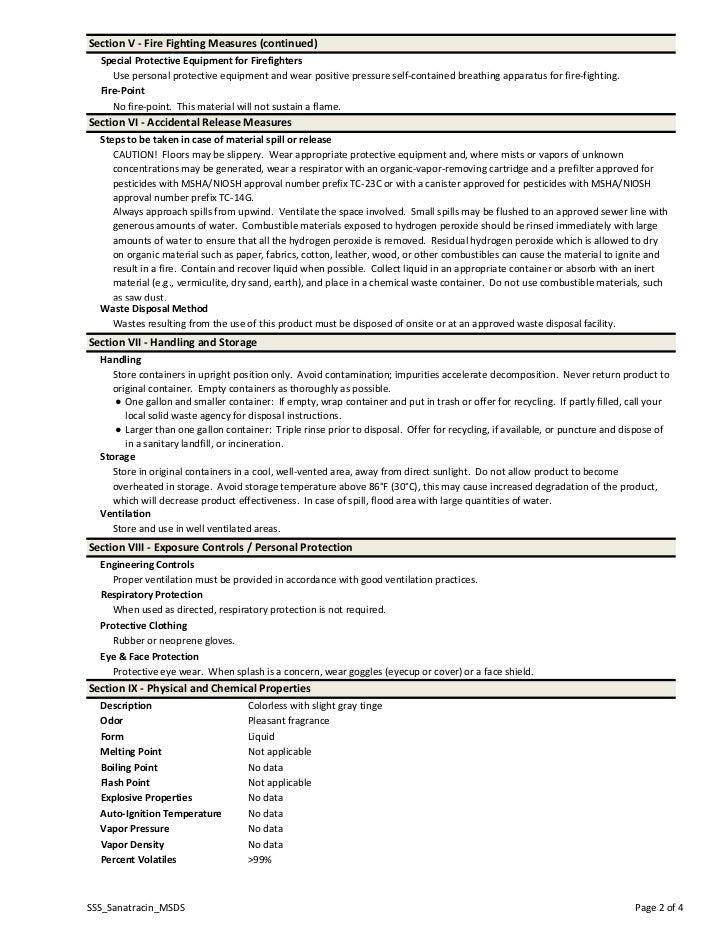 SectionV‐FireFightingMeasures(continued)  SpecialProtectiveEquipmentforFirefighters     Usepersonalprotective...