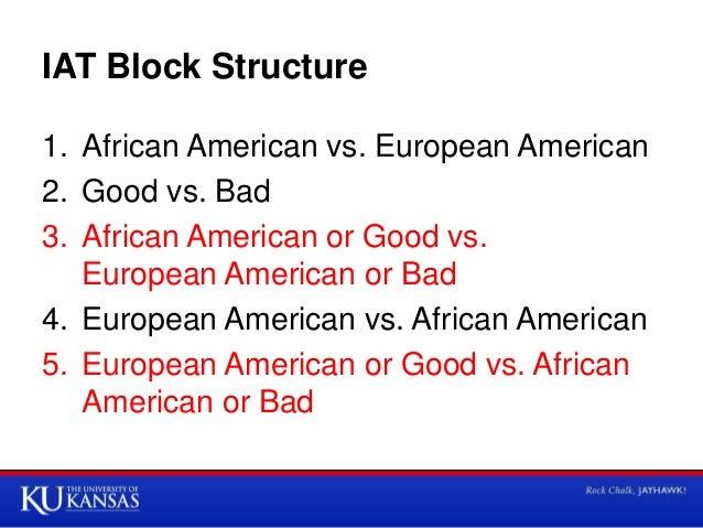 African american european american iat