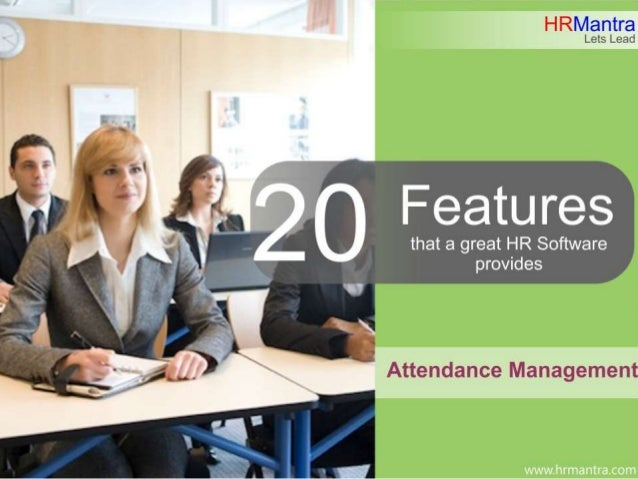 20 Features that a great Attendance module provides