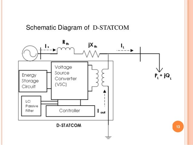 power quality improvement in distrution system using d statcom, wiring diagram