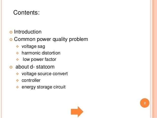 power quality improvement in distrution system using d statcomD Statcom Block Diagram #10