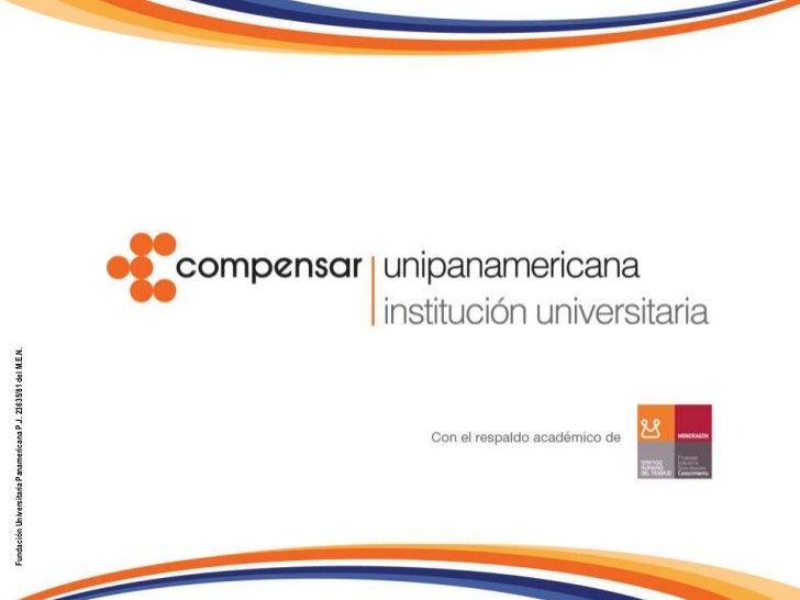 Fundación Universitaria Panamericana P.J. 23635/81 del M.E.N.