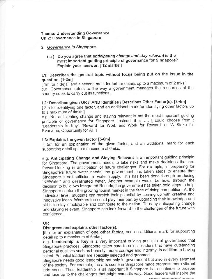 s s structured essay booklet theme understanding governance ch governance in singapore governance ii singapore. Resume Example. Resume CV Cover Letter