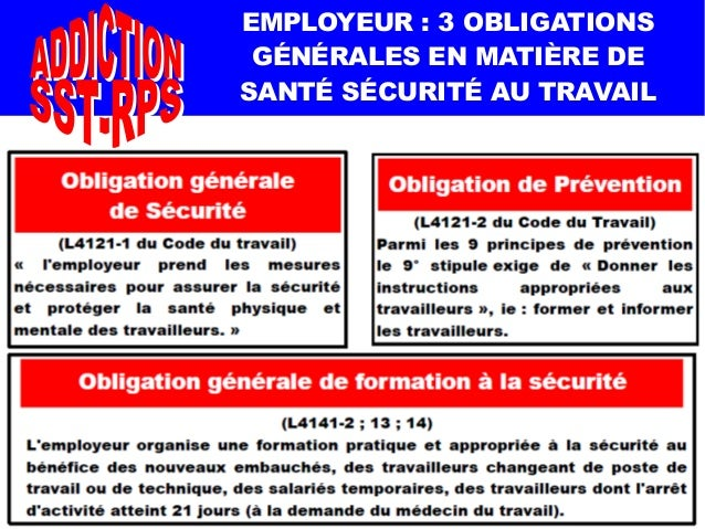 code du travail obligation de securite