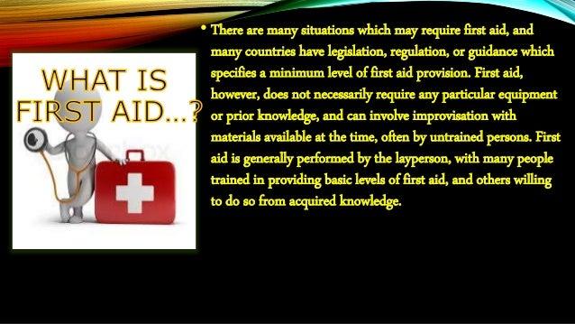 First aid box Slide 2