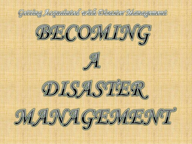 becoming a disaster manager Emergency management institute (emi)   the college list - emergency management programs - stand alone certificate programs  emergency and disaster.