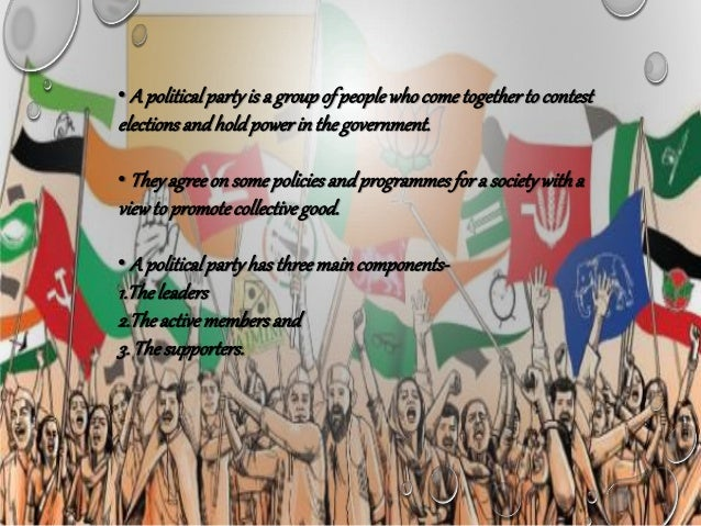 Role Of Political Parties In Democray India