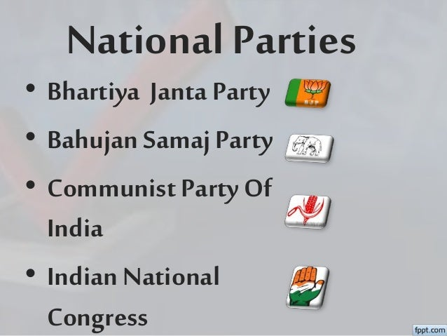 Political Parties Of India