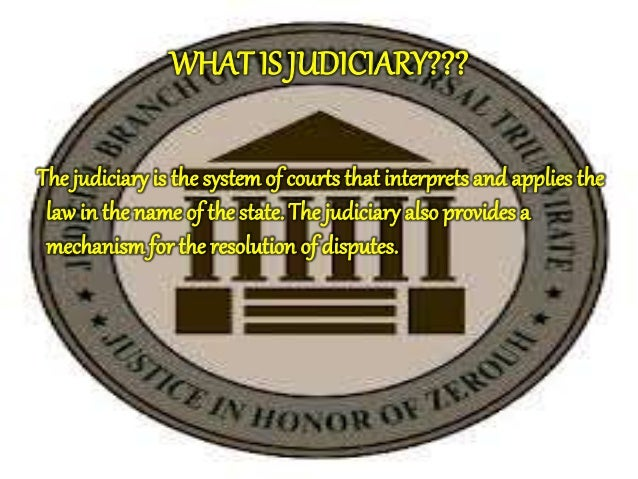 judiciary of india The indian judicial system a historical survey  ancient india had the highest standard of any nation of antiquity as regards the  judiciary in ancient india.