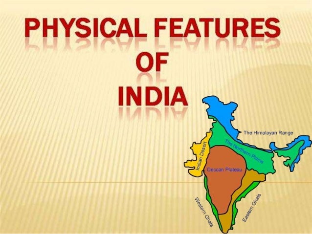 Sst Ppt On Physical Features Of India on Landforms Of The Earth