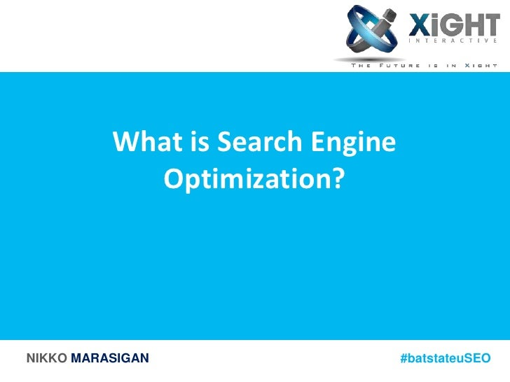 Understanding The Power of Search Engine Optimization slideshare - 웹
