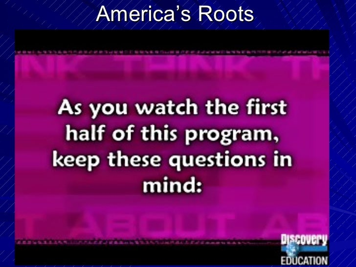 America's Roots