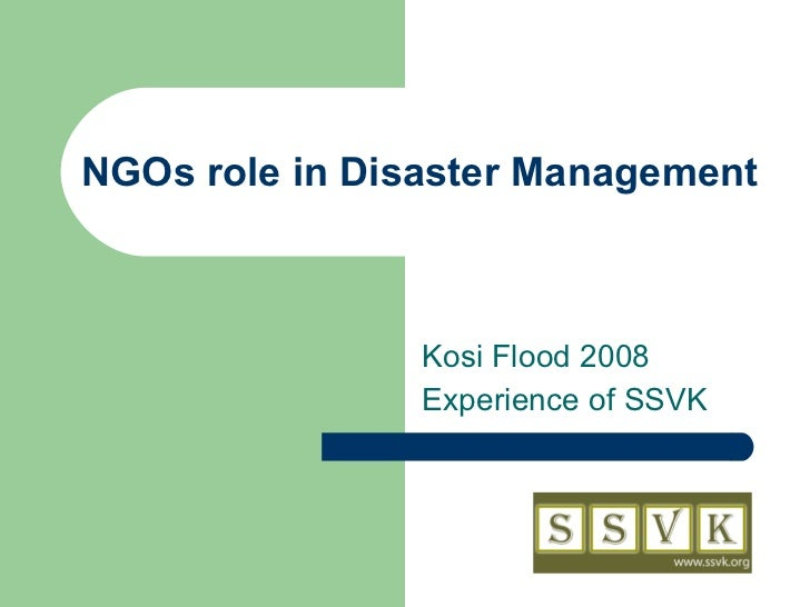 sharing responsibility during disaster management Businesses should have an incident management system (ims)  designed to aid in the management of resources during  incident briefing - efficiently share .
