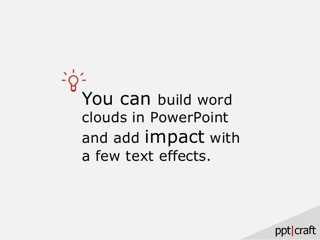 you can create word clouds in powerpoint, Powerpoint templates