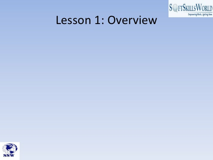 Ssw presents introduction to business writing skills module Slide 3