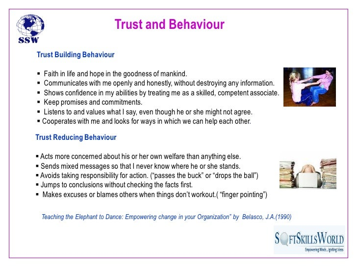 trust in work place When trust in a workplace remains broken, no one wins, and the process of rebuilding it can be hard but by practicing these seven steps, you can mend broken trust.