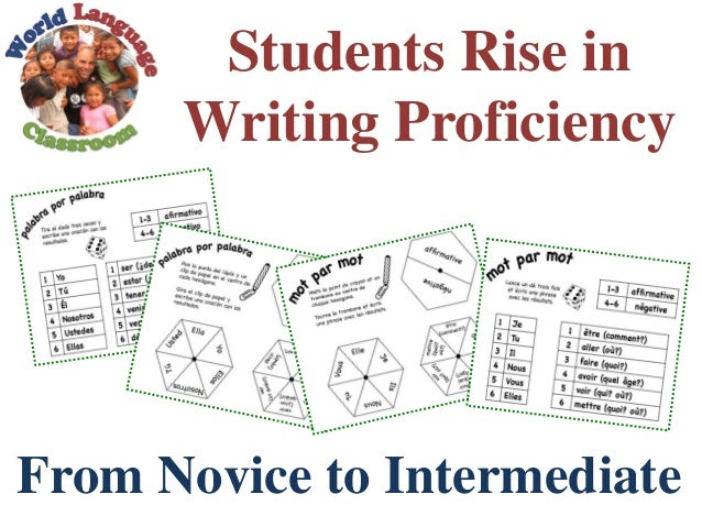 Students Rise in Writing Proficiency From Novice to Intermediate