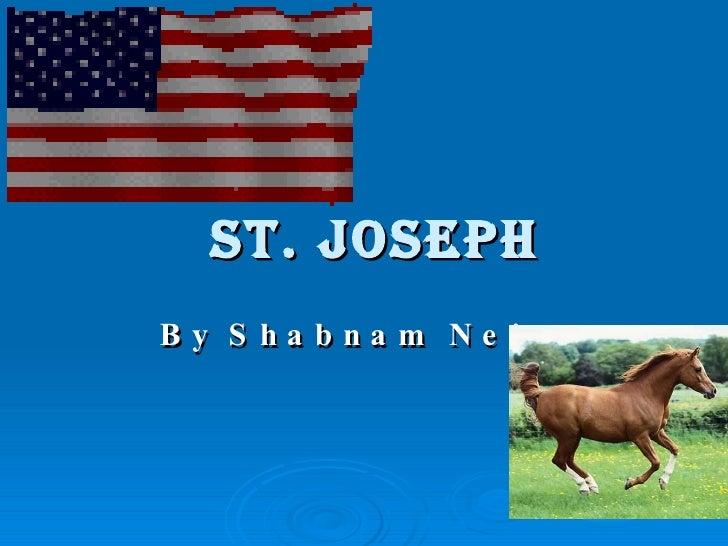 ST. joseph By Shabnam Nejat