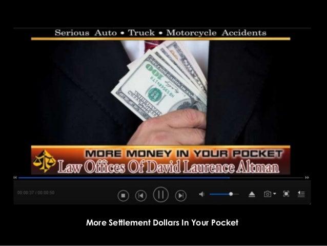 More Settlement Dollars In Your Pocket