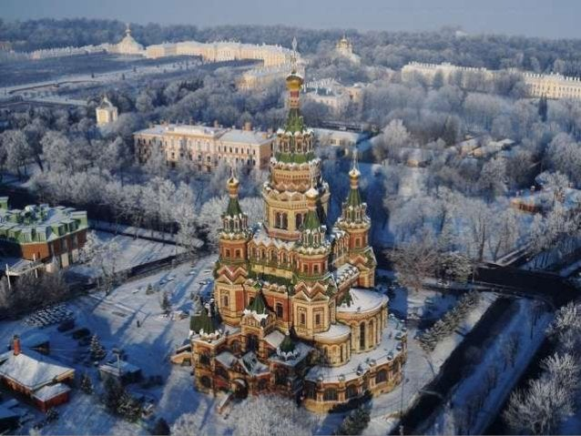 St. petersburg from above (v.m.)