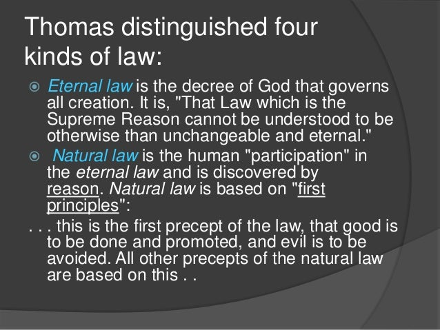 aquinas theory of natural law essay The arguments will look into aquinas theory and if his  explore the claim that natural law theory is  we will write a custom essay sample in natural law.
