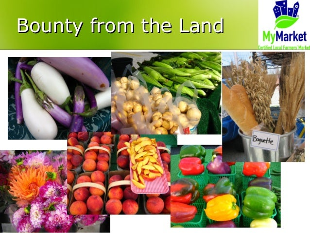 Bounty from the LandBounty from the Land