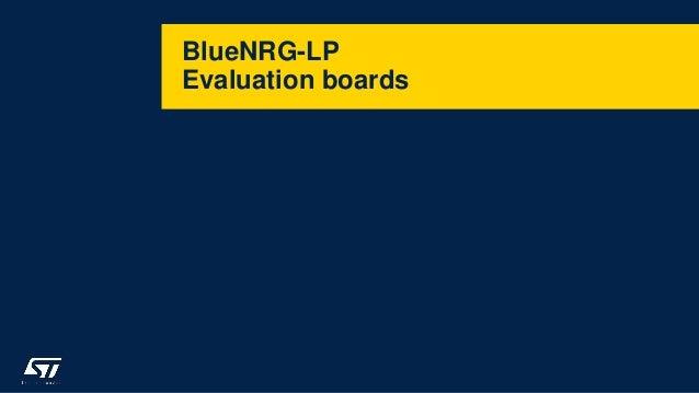BlueNRG-LP Evaluation boards
