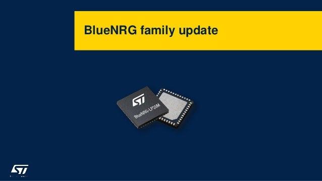 BlueNRG family update