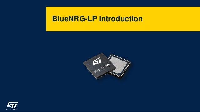 BlueNRG-LP introduction