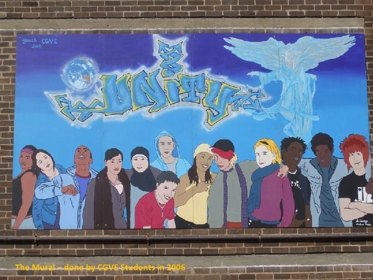 The Mural – done by CGVE Students in 2006