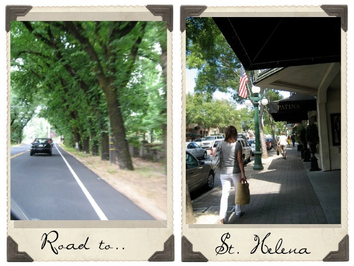 Road to..   St. Helena