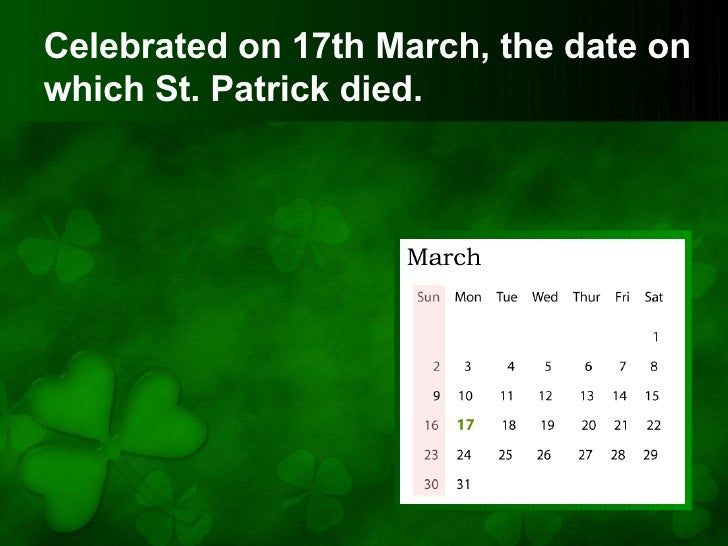 st patricks day powerpoint presentation, Powerpoint templates