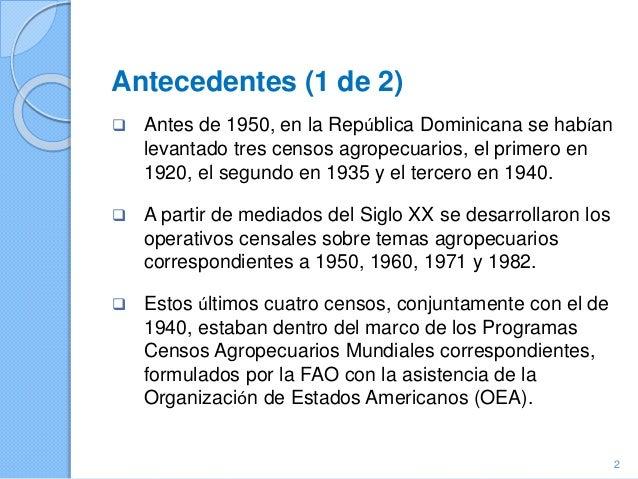 Republica Dominicana - Tema 8: Características Demográficas y Sociales; Theme10: Distribución de las decisiones de administración y propiedad en el hogar de la explotación; VIII Censo Nacional Agropecuario  Slide 2