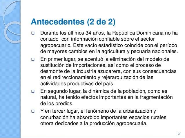 Republica Dominicana - Tema 8: Características Demográficas y Sociales; Theme10: Distribución de las decisiones de administración y propiedad en el hogar de la explotación; VIII Censo Nacional Agropecuario  Slide 3