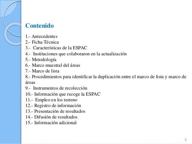 Ecuador - Tema 9:  Trabajo en la explotación, Encuesta de superficie y produccion agropecuaria continua;  Slide 2