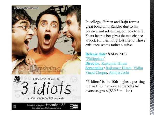 imperial college of engineering 3 idiots