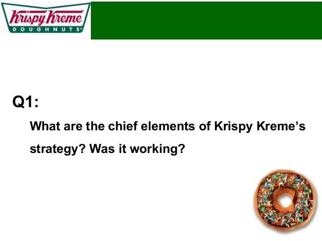 analysis of the vision mission of krispy kreme Case analysis krispy kreme doughnuts, inc thadavillil (nathan) jithendranathan professor of finance opus college of business university of st thomas st paul.