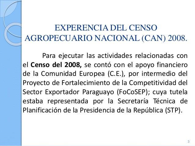 Paraguay- Tema 05:Ganado, Censo Nacional Agropecuario 2008 Slide 3