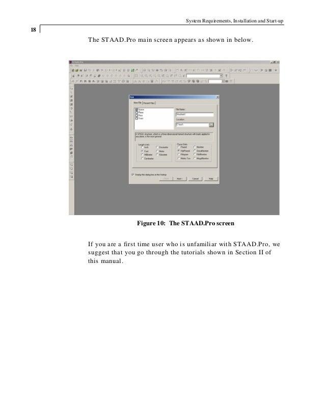 tutorial staad pro rh slideshare net