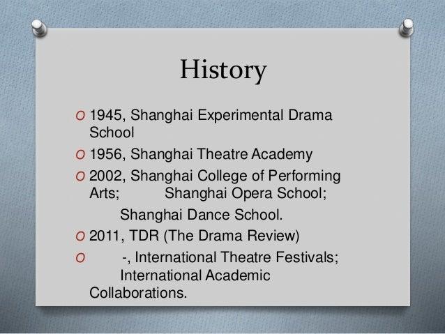 Shanghai Theatre Academy Presentation by Dr Haili Ma Slide 2