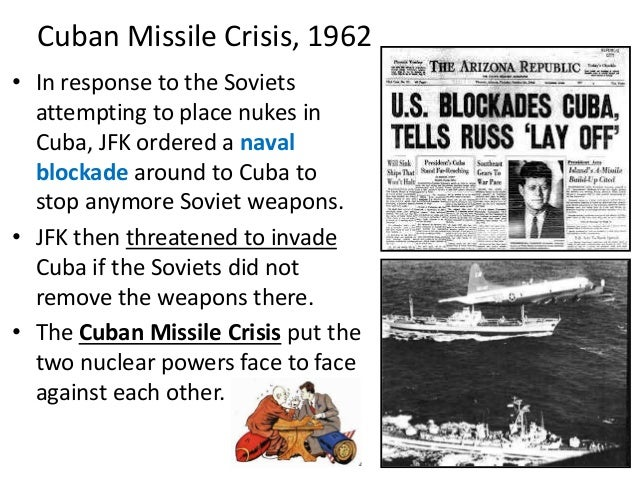 an introduction to the history of the cuban missile crisis