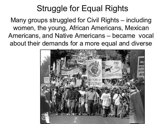 Native Americans' Civil Rights Struggle Essay