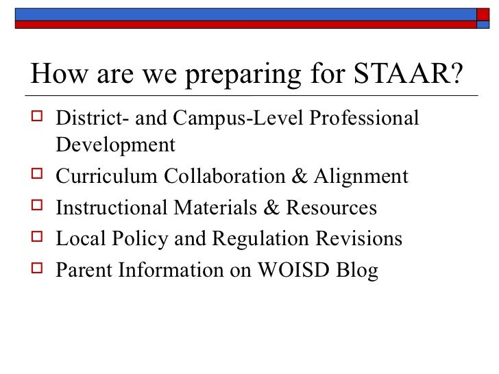 STAAR Parent Information