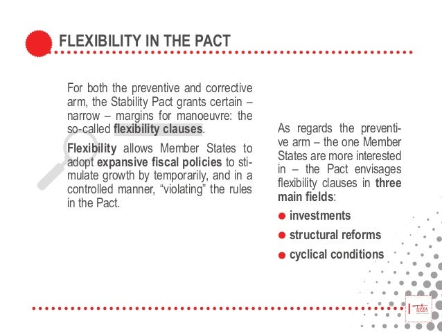 stability and growth pact The paper proposes a theoretical model of fiscal policy offering new insights on some of the key policy trade-offs involved in the recent reform of the stability and growth pact.