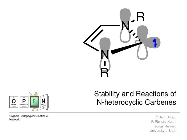 Stability and reactions of n heterocyclic carbenes