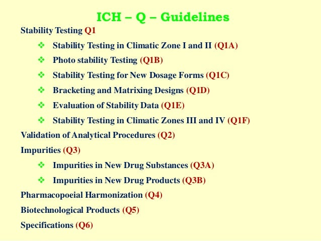 Requirements for expiration hookup and stability testing