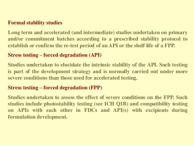 Stability Testing Protocol |authorSTREAM
