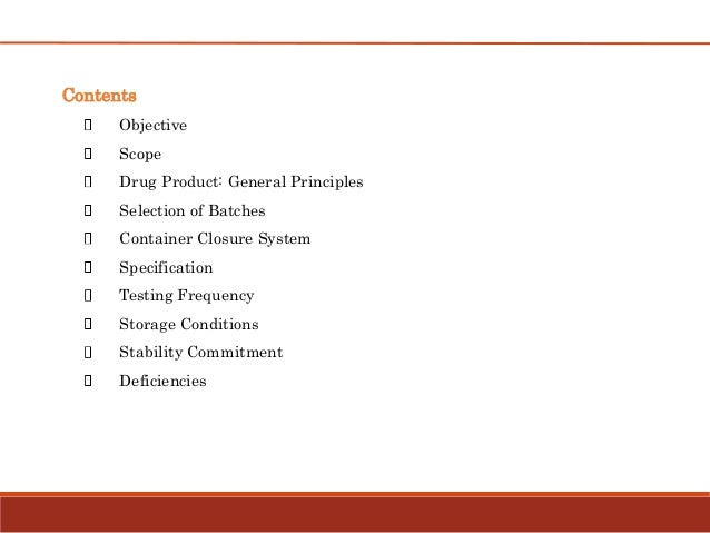 Stability testing for drug products Slide 2
