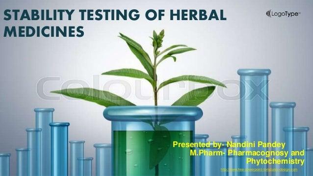 Stability Testing In Herbal Medicines