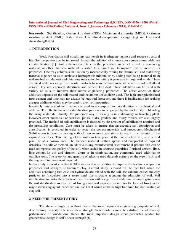 soil stabilization using cement pdf